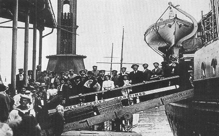 ¿De qué nacionalidad europea provino la mayor cantidad de inmigrantes que llegaron a Argentina a fines del siglo 19 y principios