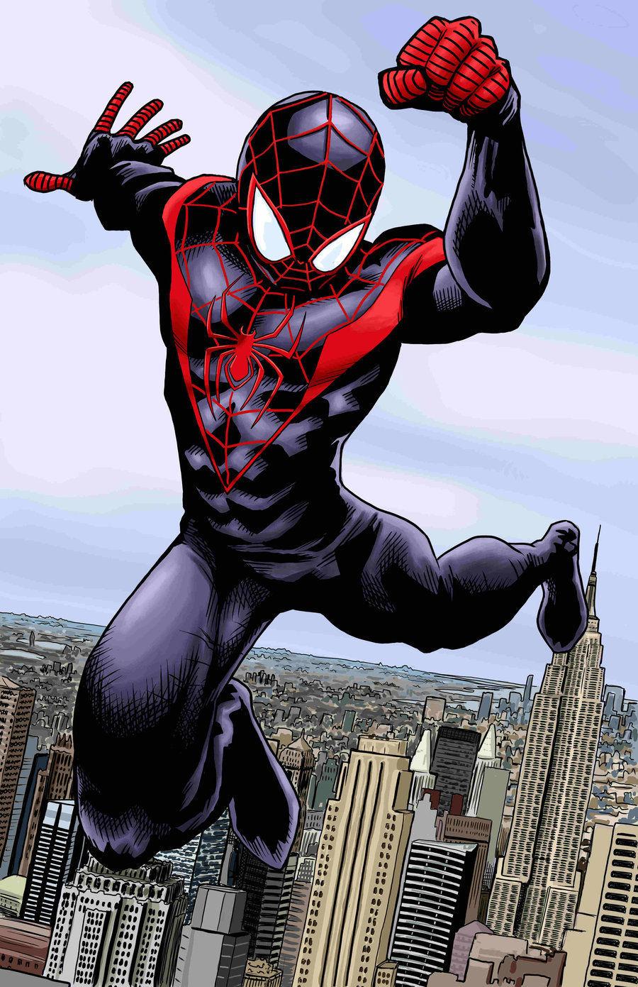 ¿En el universo ultimate, quién se convirtió en el nuevo Spiderman tras la muerte de Peter Parker?