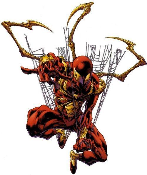 ¿Que pasó con el traje de Iron-Spider que Ironman le construyó poco antes de la Civil War?
