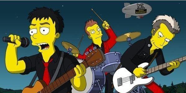 ¿Cuál de las siguientes cantantes no salió en los Simpson?