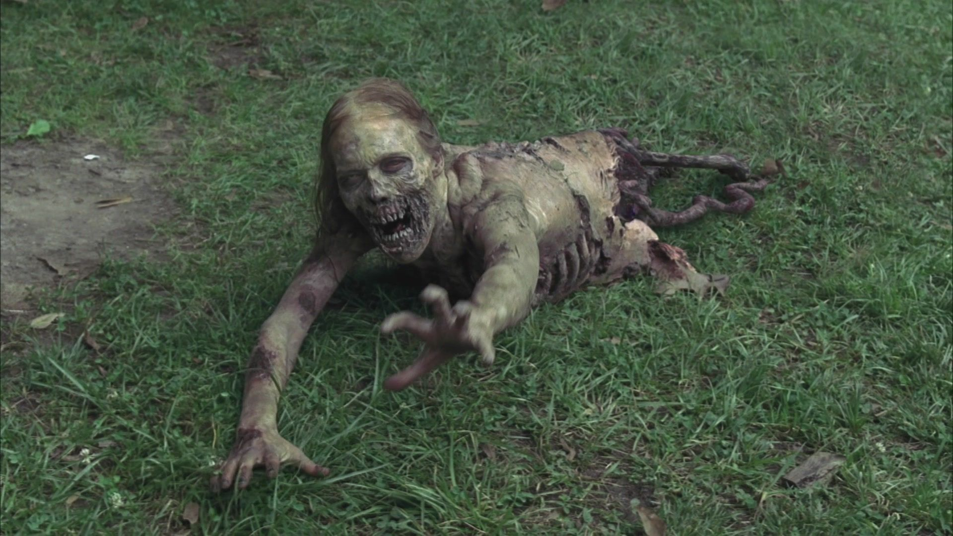 ¿Cómo se llama el primer caminante que vio Rick?