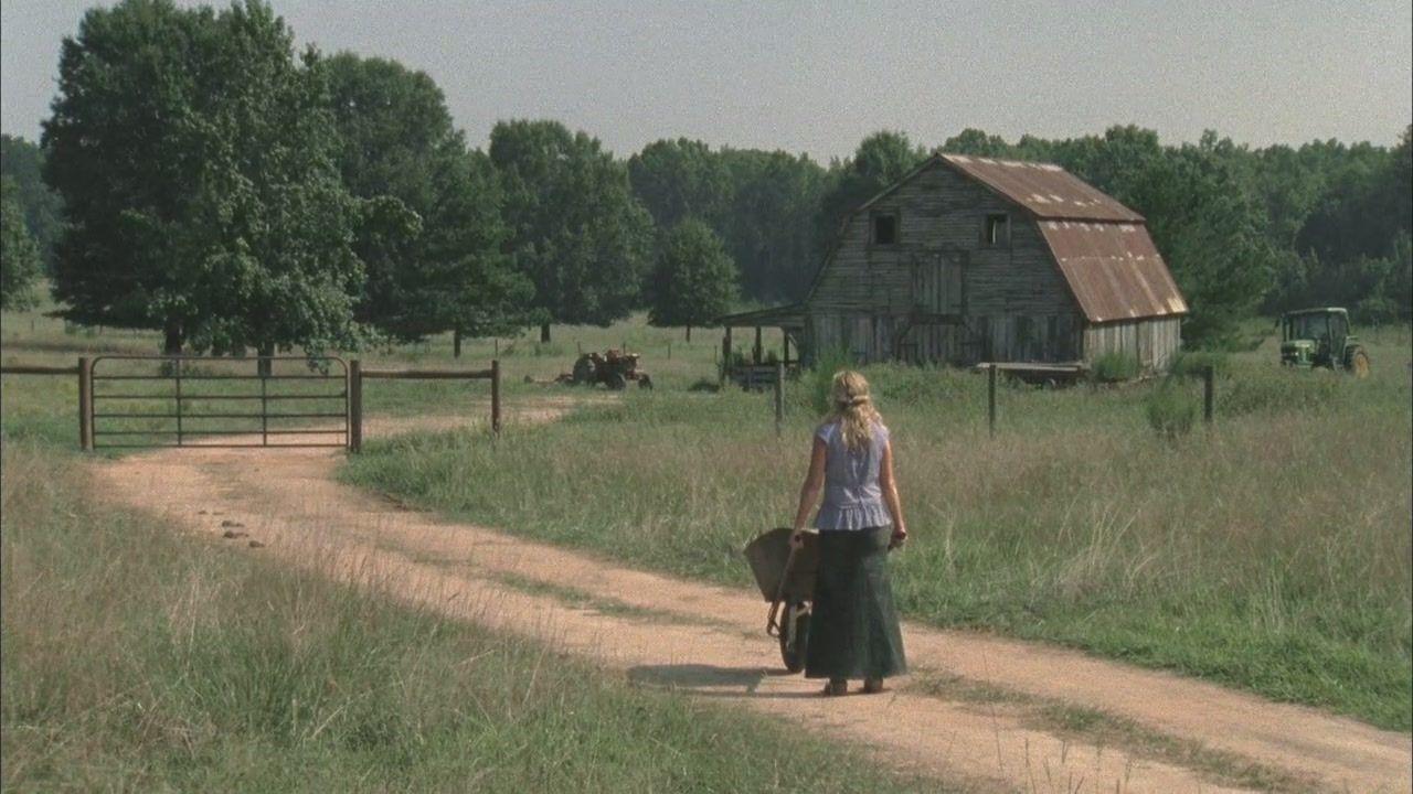 ¿Por qué los Greene guardaban caminantes en el granero?