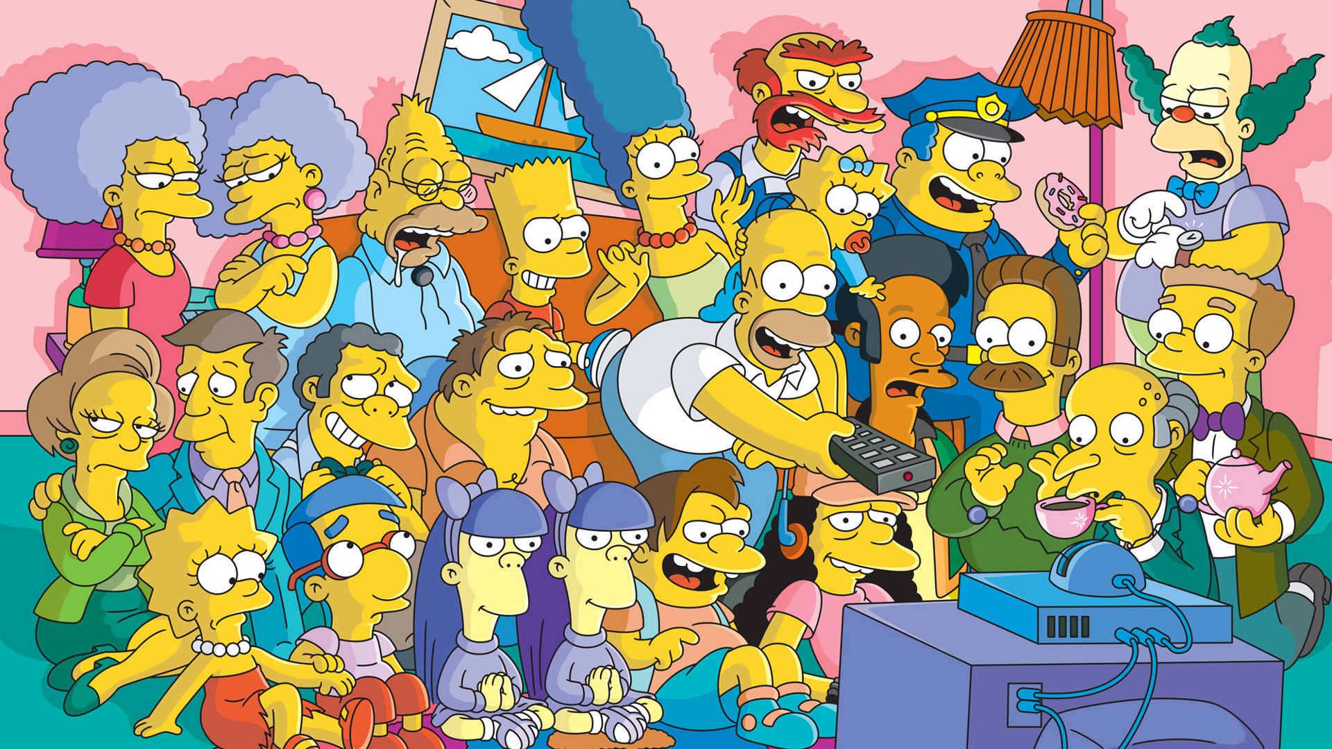 ¿En qué año se retransmitió el primer episodio de Los Simpson?