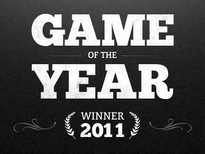 ¿Qué juego ganó el GOTY perteneciente al año 2011?