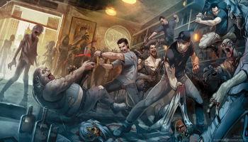 Escuchas unos gritos, llegas al lugar y... ¡Es otro superviviente! Solo que claro, está rodeado de zombies