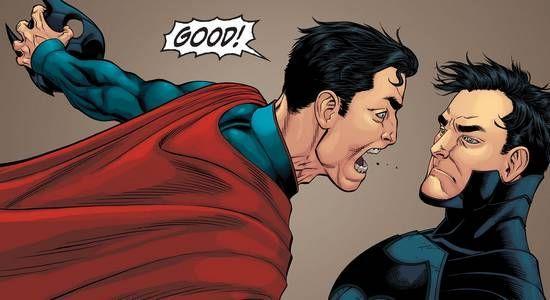 ¿Qué personaje se rompe el cuello por accidente en Injustice Gods Among Us Year One?