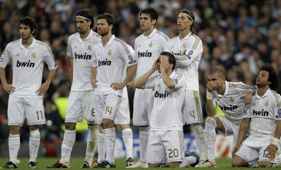 El 27 de octubre de 2009, el Real Madrid sufrió una