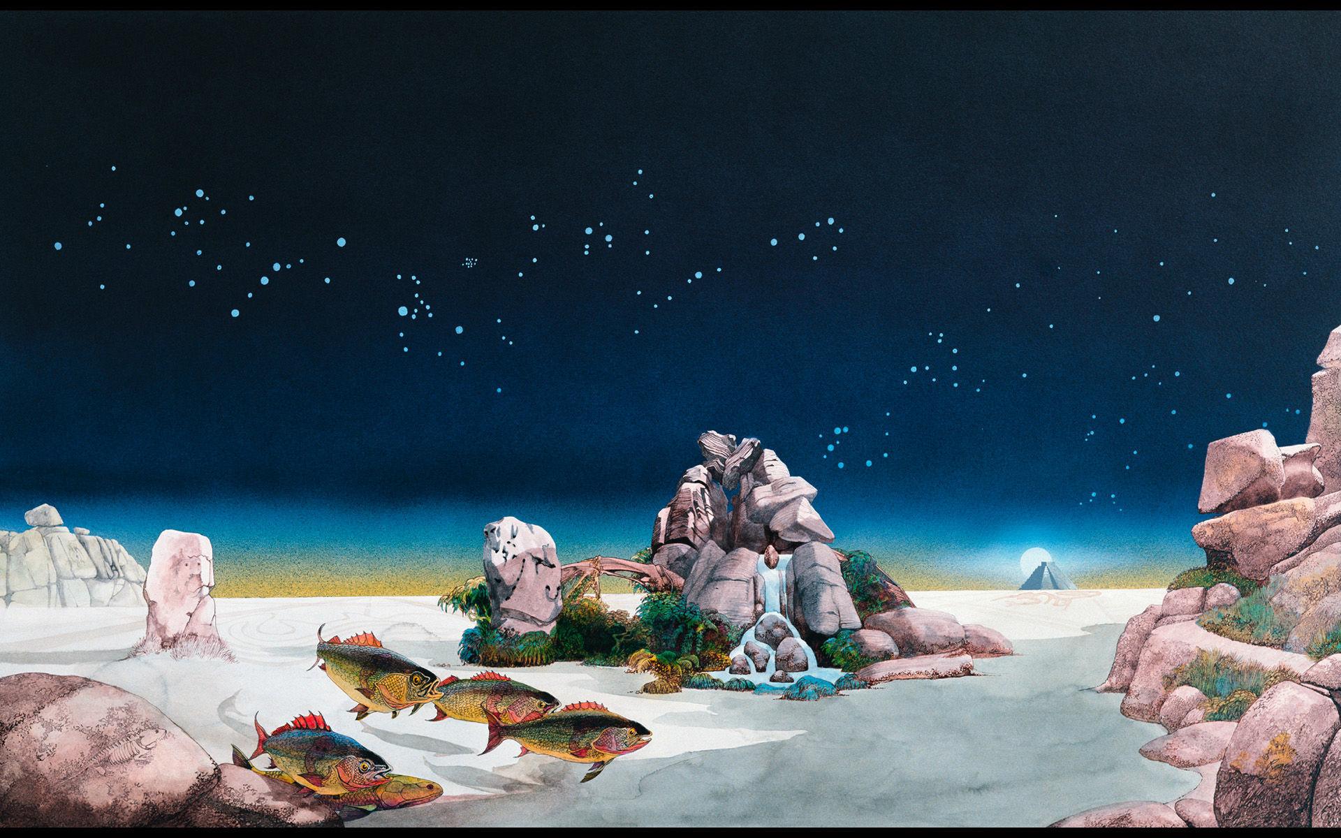 ¿En qué libro se basa el disco Tales From Topographic Oceans de la banda británica Yes?