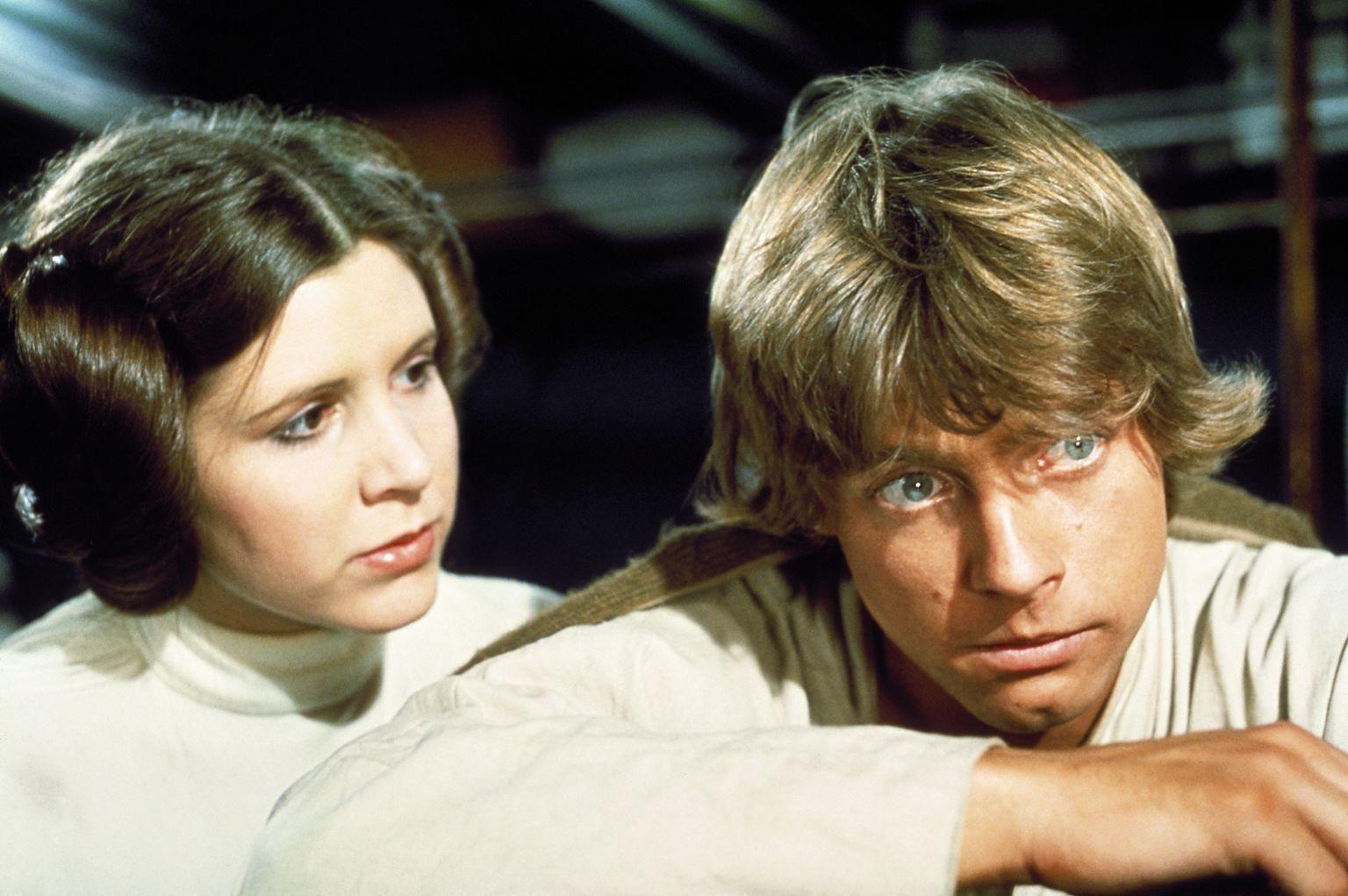¿Dónde nacen Leia y Luke Skywalker?