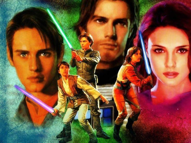 Pese a la nueva película. ¿Cómo se llaman los tres hijos de Leia y Han Solo? (universo expandido)