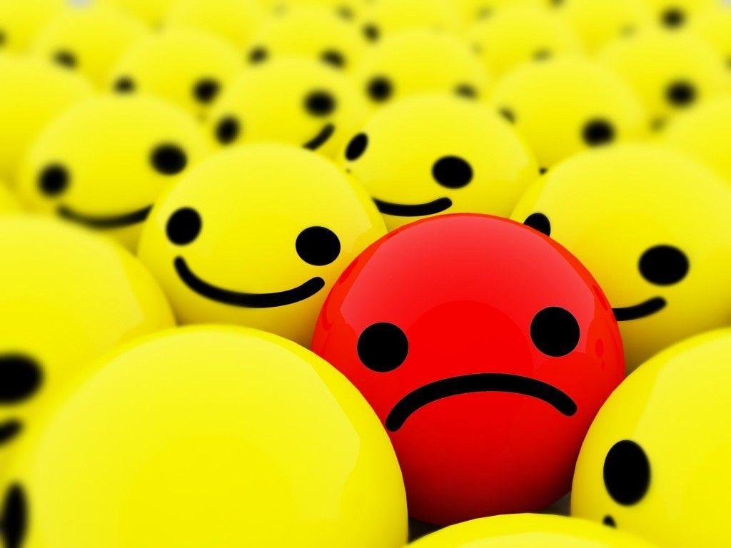 ¿Sonreír cuando algo malo ocurre o poner cara triste cuando pasa algo bueno?