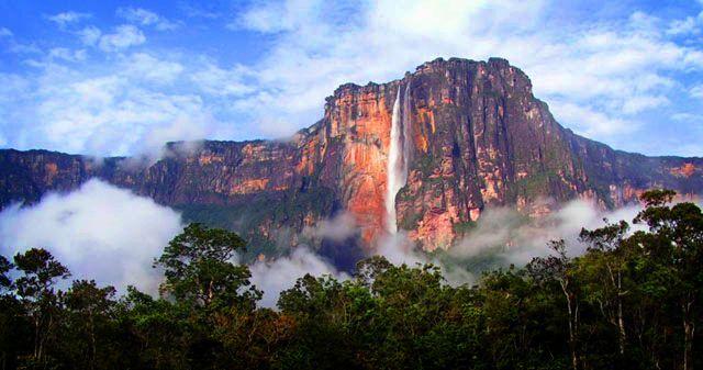 ¿En qué país se encuentra el salto de agua más grande del mundo?