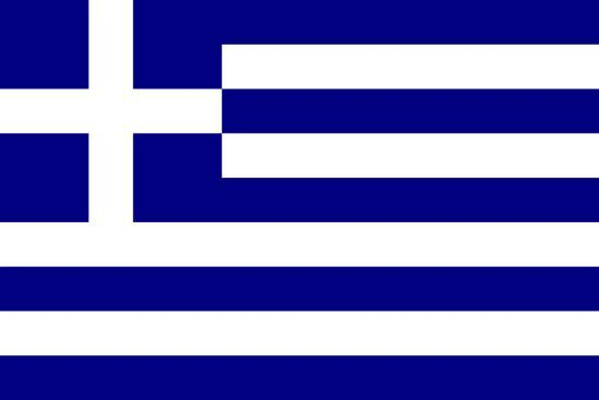 Cuna de la democracia, actualmente en crisis, ¿a qué país representa esta bandera?