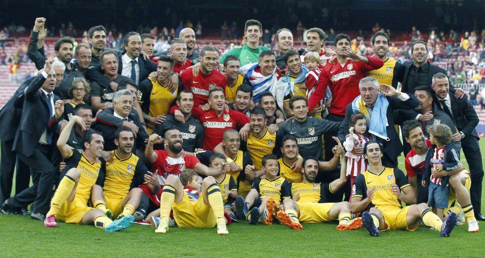 En 2014, el Atlético de Madrid se proclamó campeón de Liga frente al FC Barcelona gracias a un gol de cabeza ¿Quién lo marcó?