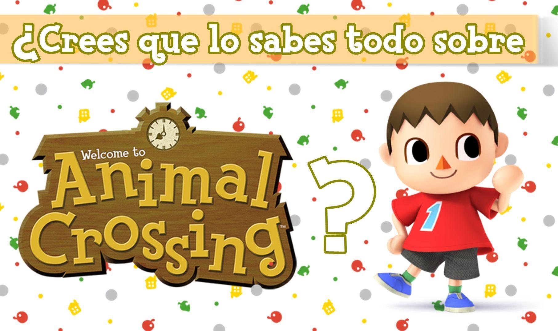 1665 - ¿Crees que lo sabes todo sobre Animal Crossing?