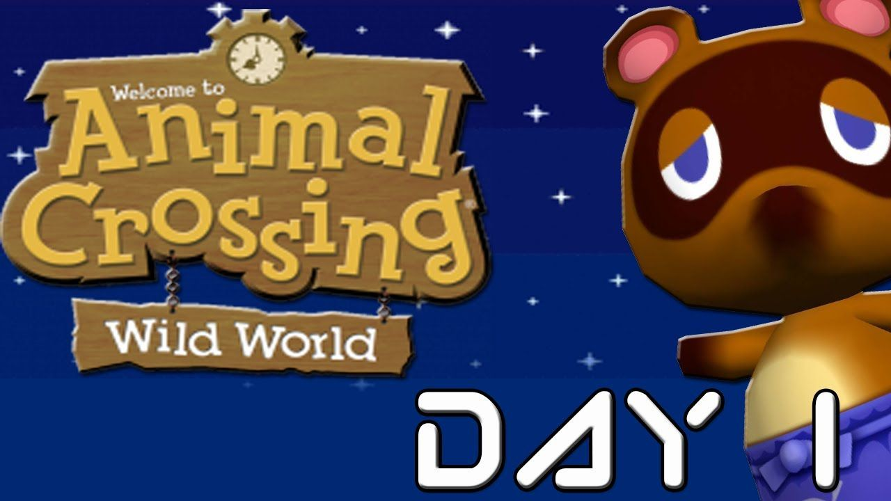 ¿En qué vehículo llegas al pueblo el primer día en Animal Crossing: Wild World?