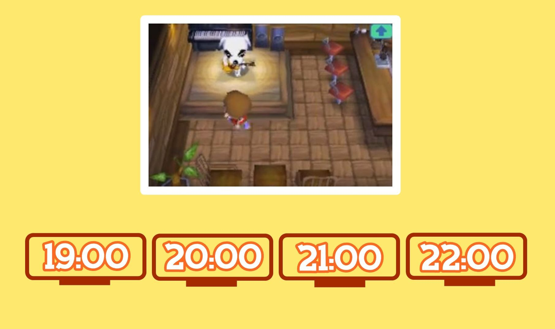 En Animal Crossing Wild World, ¿A qué hora tocaba Totakeke en El Alpiste?