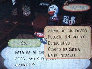 ¿Cómo se llamaba el pueblo pobre al que podías hacer donaciones desde el ayuntamiento en Animal Crossing: Wild World