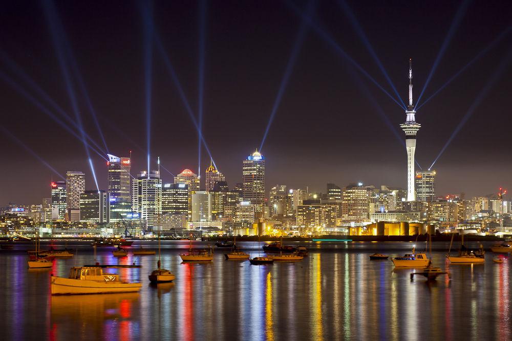 ¿Cuál es la ciudad más poblada de Nueva Zelanda?