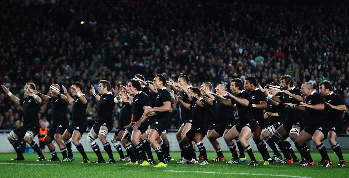 ¿Con qué nombre se le conoce a la mítica selección de rugby de Nueva Zelanda?