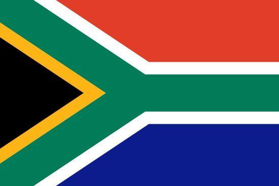 La bandera representa al país africano del que fue presidente Nelson Mandela, ¿qué país?
