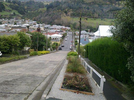 ¿Está en Nueva Zelanda la calle más empinada del mundo?
