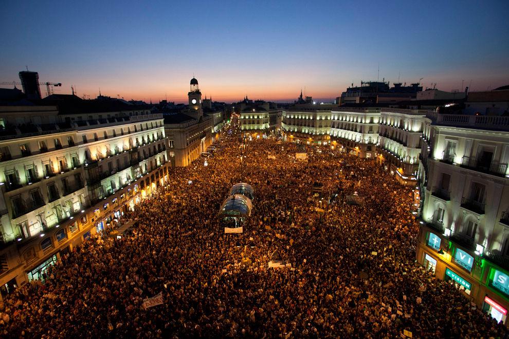 La participación política de los ciudadanos.