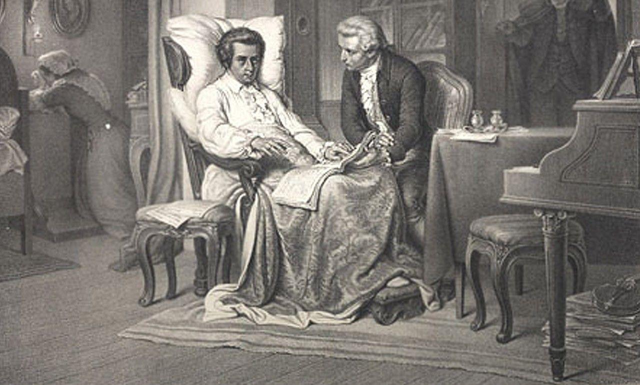 ¿A qué edad muere Mozart?