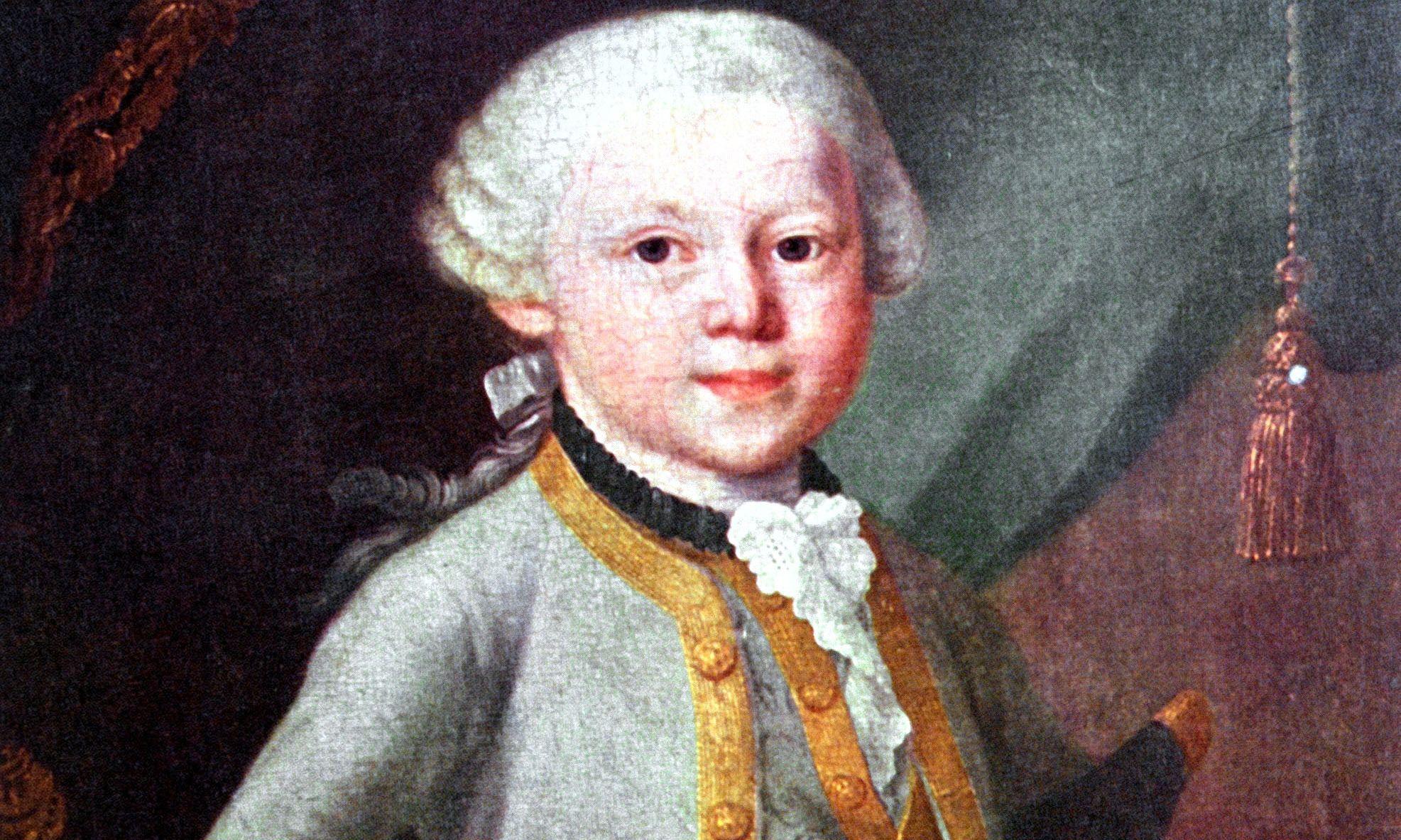 Nombre completo de Mozart