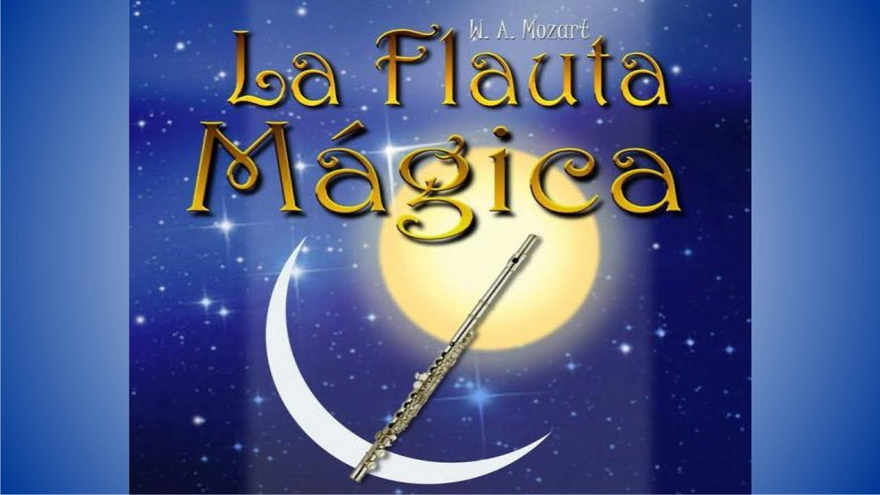 En la flauta mágica ¿Quién le da a Tamino la flauta?
