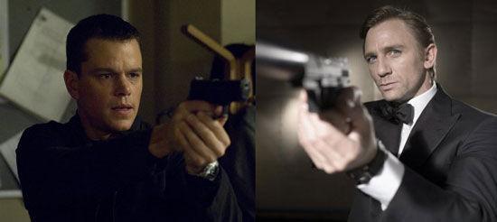 ¿Jason Bourne o James Bond? Uno te protegerá, el otro intentara matarte