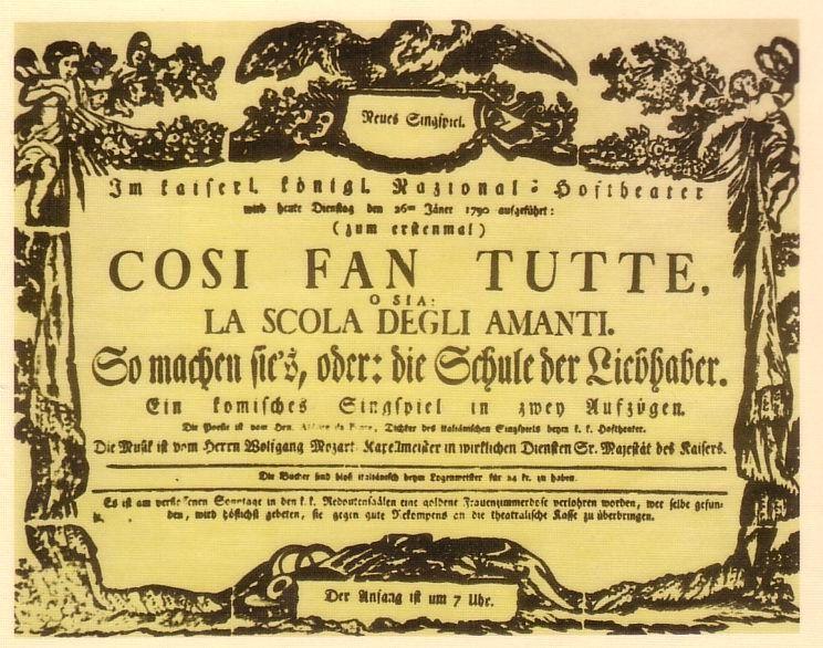 ¿Cuál de estas óperas de Mozart no fue escrita por Lorenzo da Ponte?
