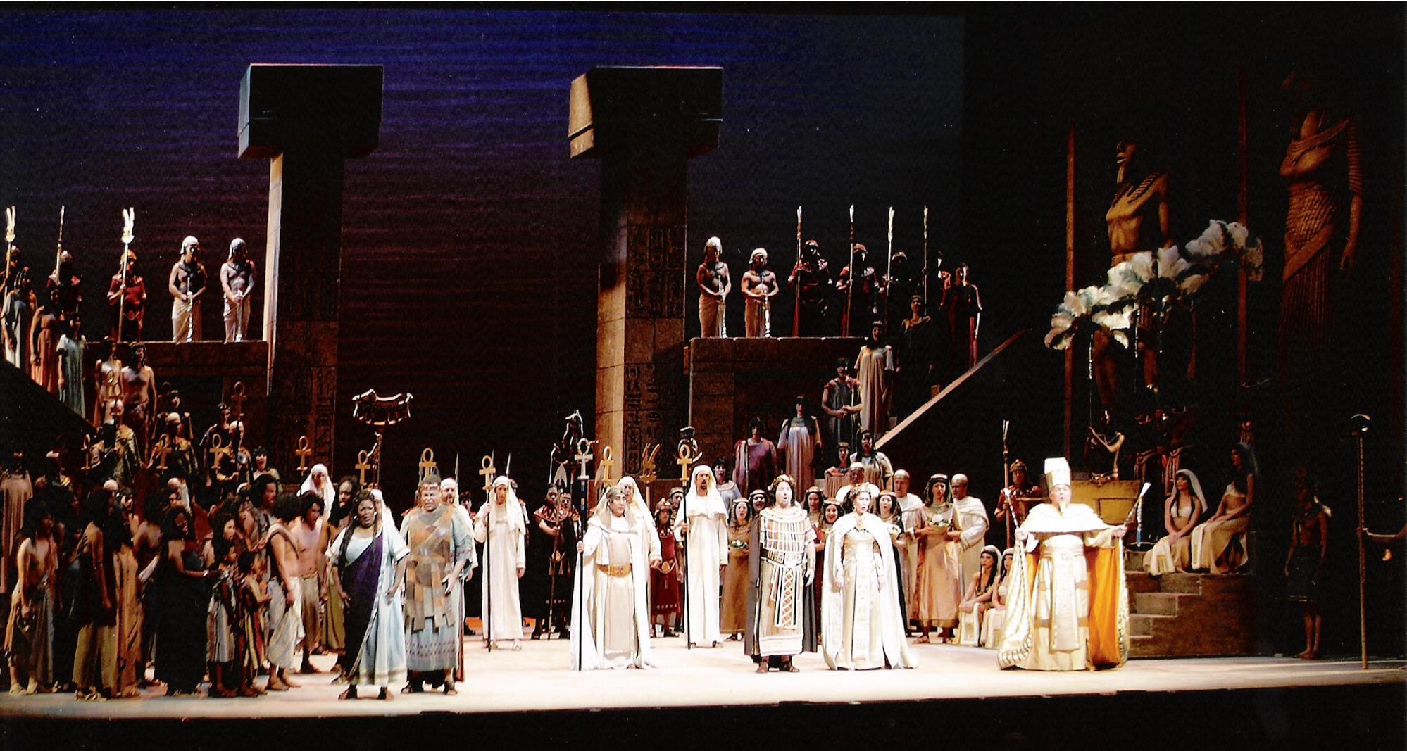 ¿Dónde se estrenó Aida, de Giuseppe Verdi?