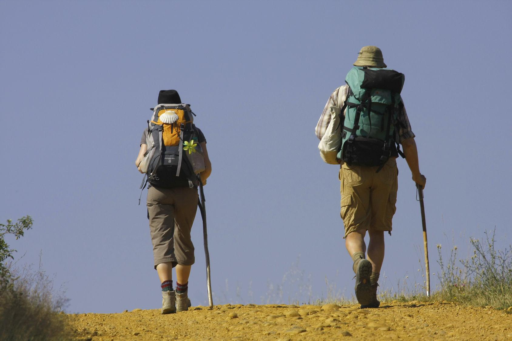 ¿Cómo se llama a aquellos que hacen el Camino de Santiago?