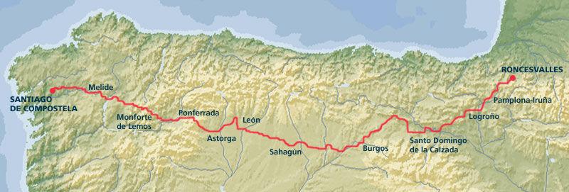 De las rutas más conocidas que hay, ¿cual es la que suele seguir más gente?