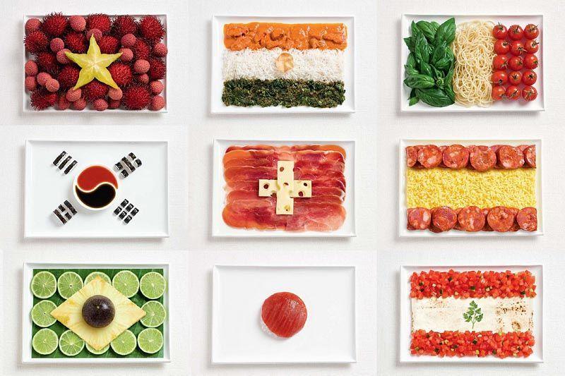 1901 - ¿A qué país pertenece cada plato?