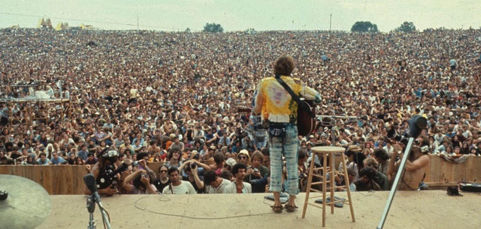 ¿Cuál de estas bandas se popularizó tras el fesitval de Woodstock?