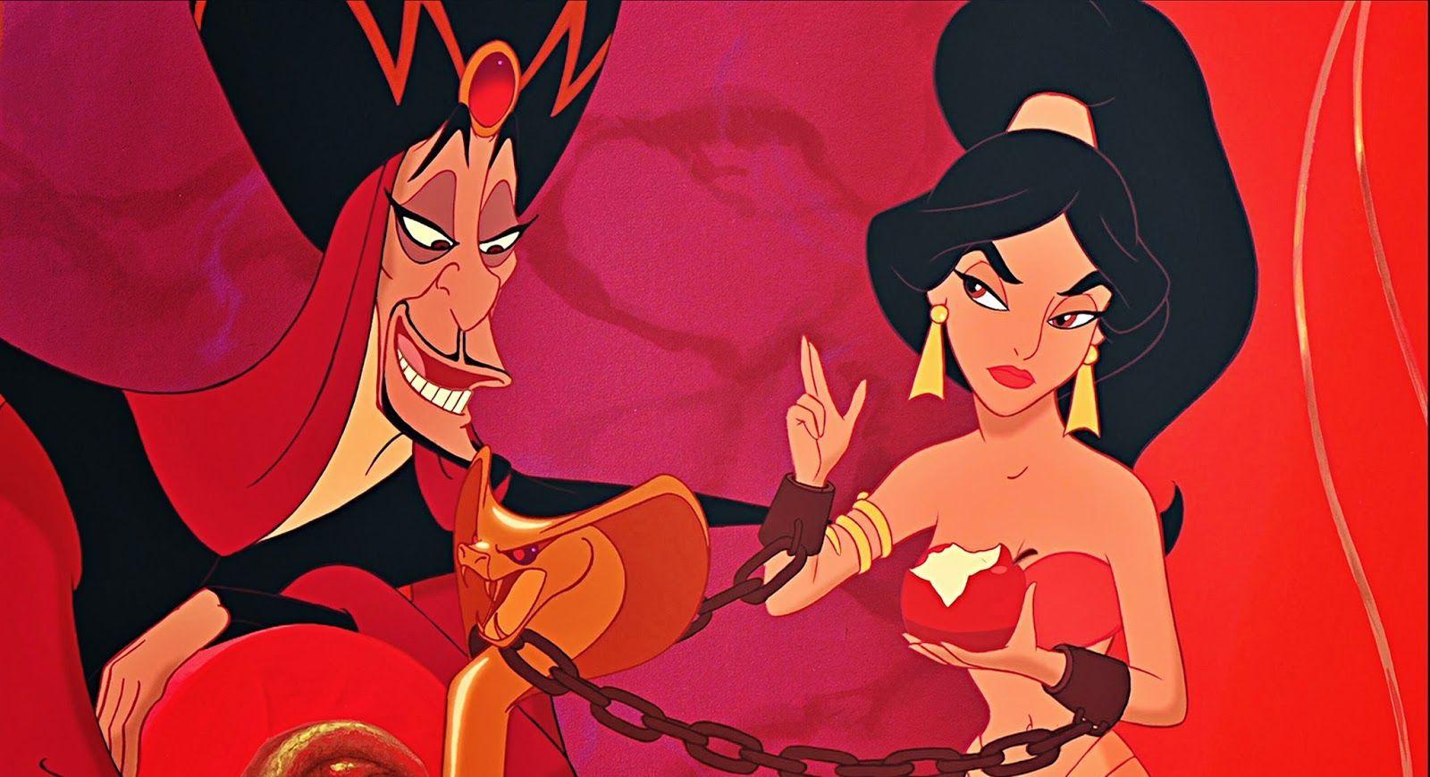 En Aladdin, ¿cuál es el último deseo que le pide Jafar al genio?