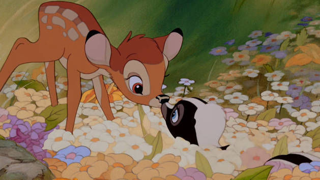 ¿Cómo se llama la adorable mofeta de Bambi?