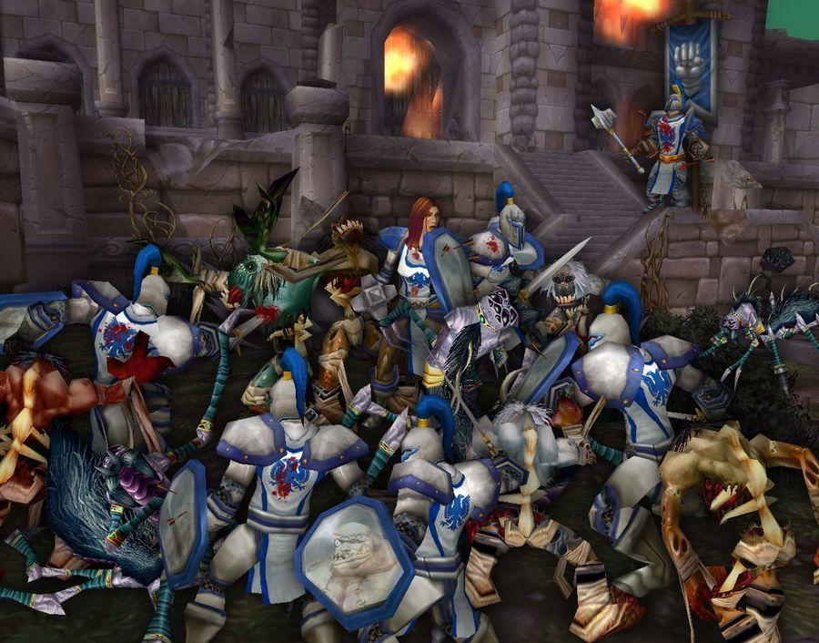 ¿Cuál es el plan del Azote para destruir el Reino de Lordaeron?