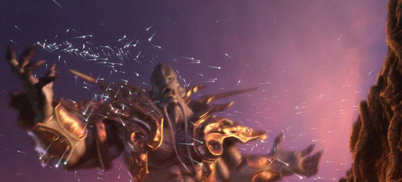 ¿Que pueblos luchan contra la Legión de Fuego en la cima del Monte Hyjal?