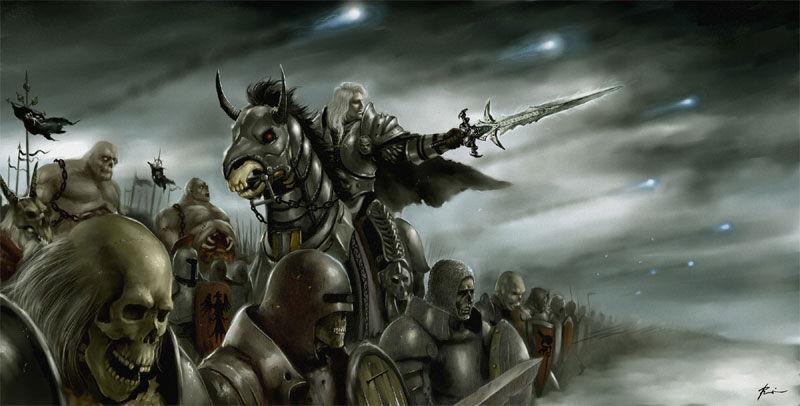 Arthas se convierte en el primer caballero de la muerte del Rey Lich. ¿Cuál es su misión final?