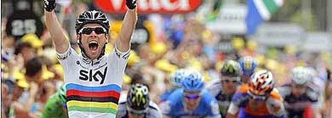 ¿En qué año ganó Marck Cavendish el mundial de ruta?