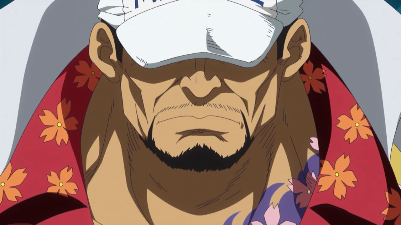 ¿Cuál es el verdadero nombre del almirante de flota Akainu?