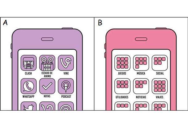 Organizando tus aplicaciones