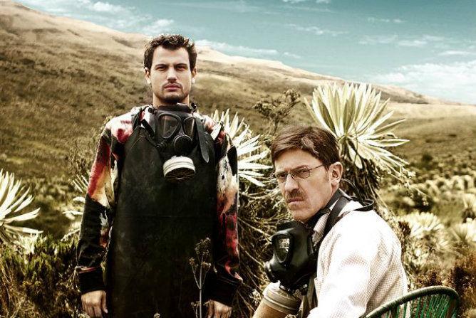 ¿Cómo se llama la serie de televisión colombiana, recreación de Breaking Bad?