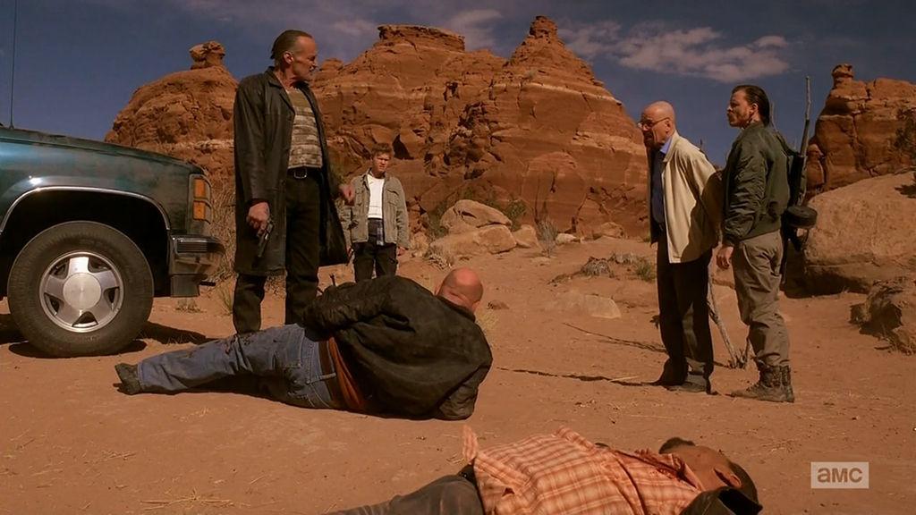 ¿En qué episodio mueren Hank Schrader y Steve Gómez?