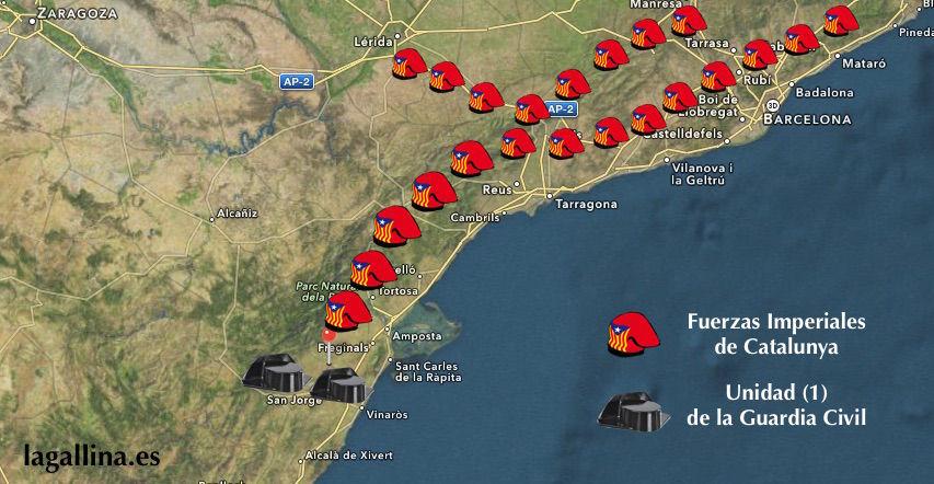 ¿Cuál de estas ciudades pertenece a Cataluña?