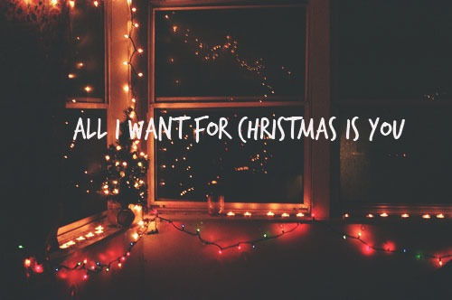 ¿Quién canta All I want for Christmas is you?