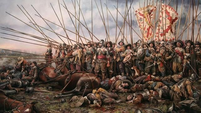 ¿El famoso Tercio español era?
